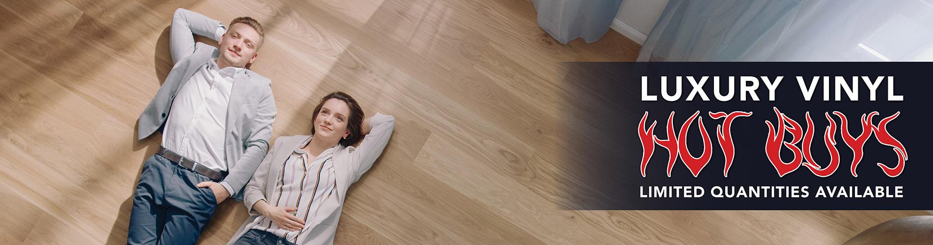 Luxury Vinyl Plank Flooring Sale at Abbey Carpet of Tacoma, WA